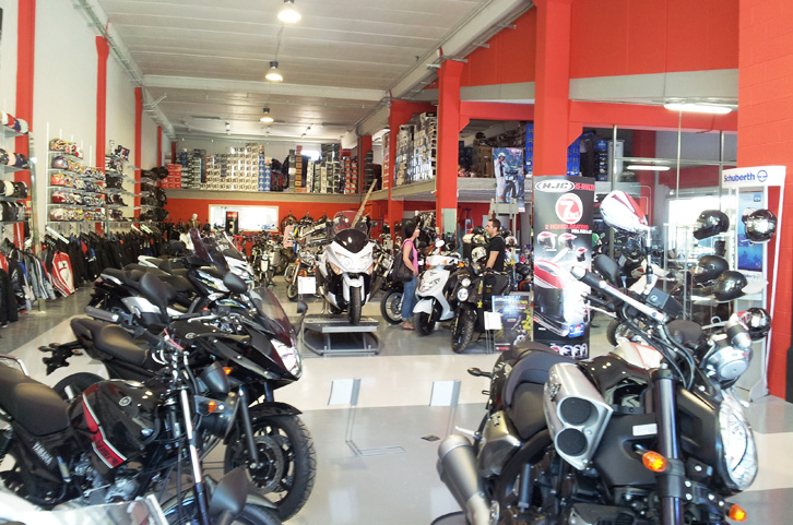 PROJECT MOTORCYCLE RETAIL SHOP